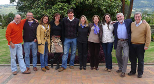 2013-06-10 Intensive Course, Coaching Hall - Bogotá, Colombia