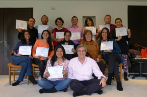 2015-01-10 Certificación Internacional - Bogotá, Colombia